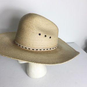 Sahuayo Palmaro Tan Sun Western Cowboy Hat